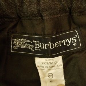 Burberry Skirts - Burberry Grey Wool Pleated Skirt